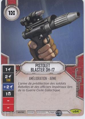 Pistolet blaster DH-17