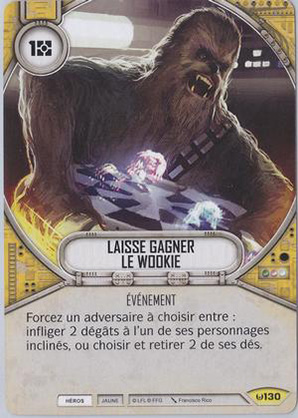 Laisse gagner le wookie