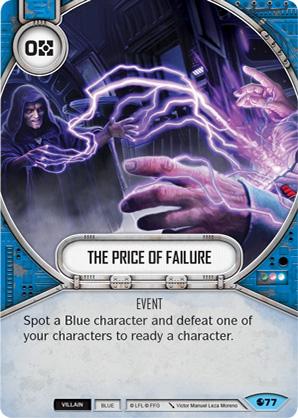 Le prix de l'échec