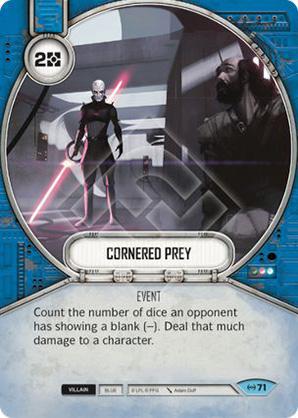 Cornered Prey