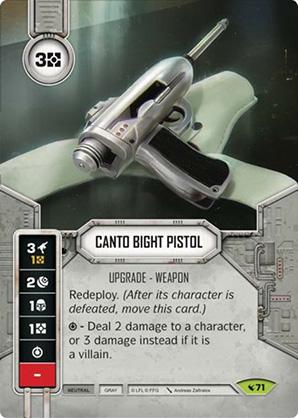 Pistolet de Canto Bight