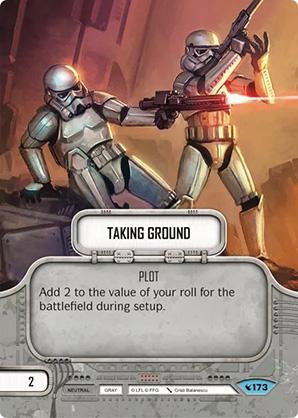 Taking Ground