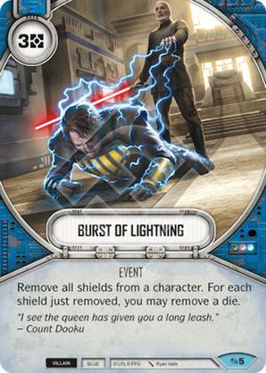 Burst Of Lightning