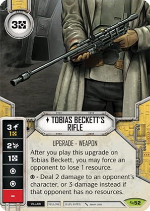 Tobias Beckett's Rifle