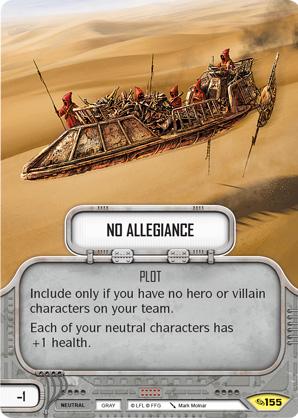 No Allegiance