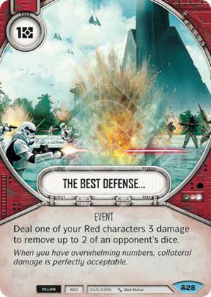 The Best Defense...