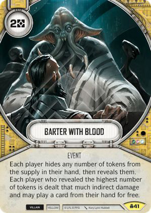 Barter With Blood
