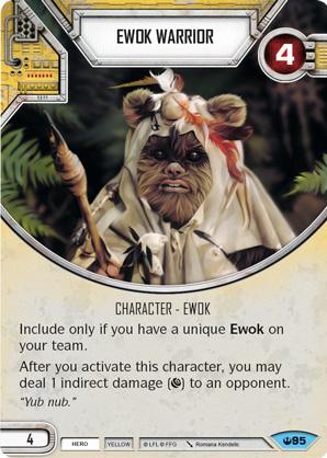 Guerrier Ewok