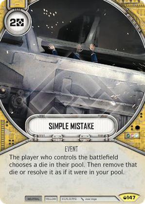 Simple erreur