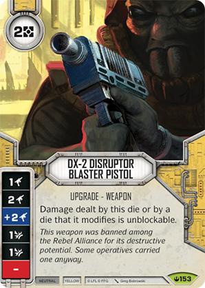 Pistolet blaster disrupteur DX-2