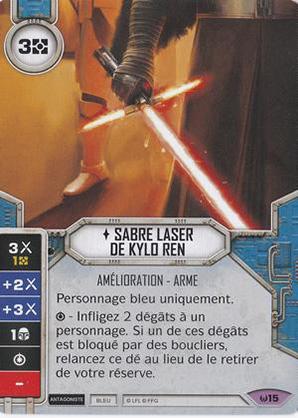 Sabre laser de Kylo Ren
